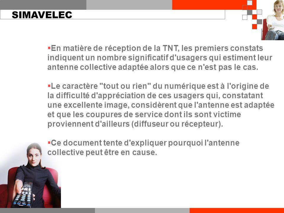  En matière de réception de la TNT, les premiers constats indiquent un nombre significatif d usagers qui estiment leur antenne collective adaptée alors que ce n est pas le cas.