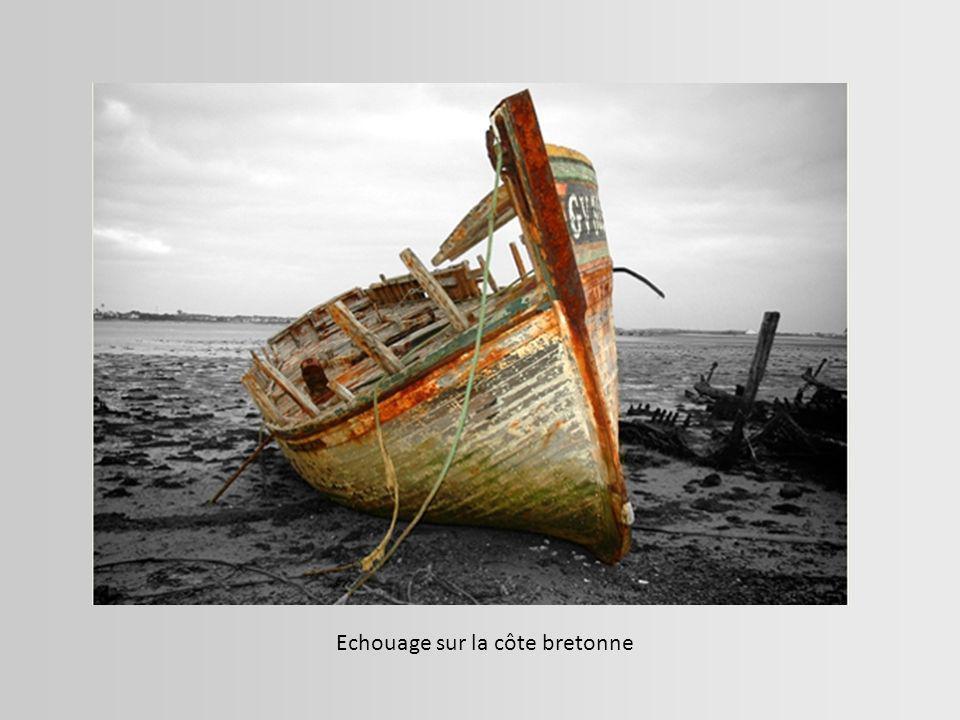 Échouage d un cargo sur la côte franco-espagnole. Fontarabie, Espagne Colère de la mer-