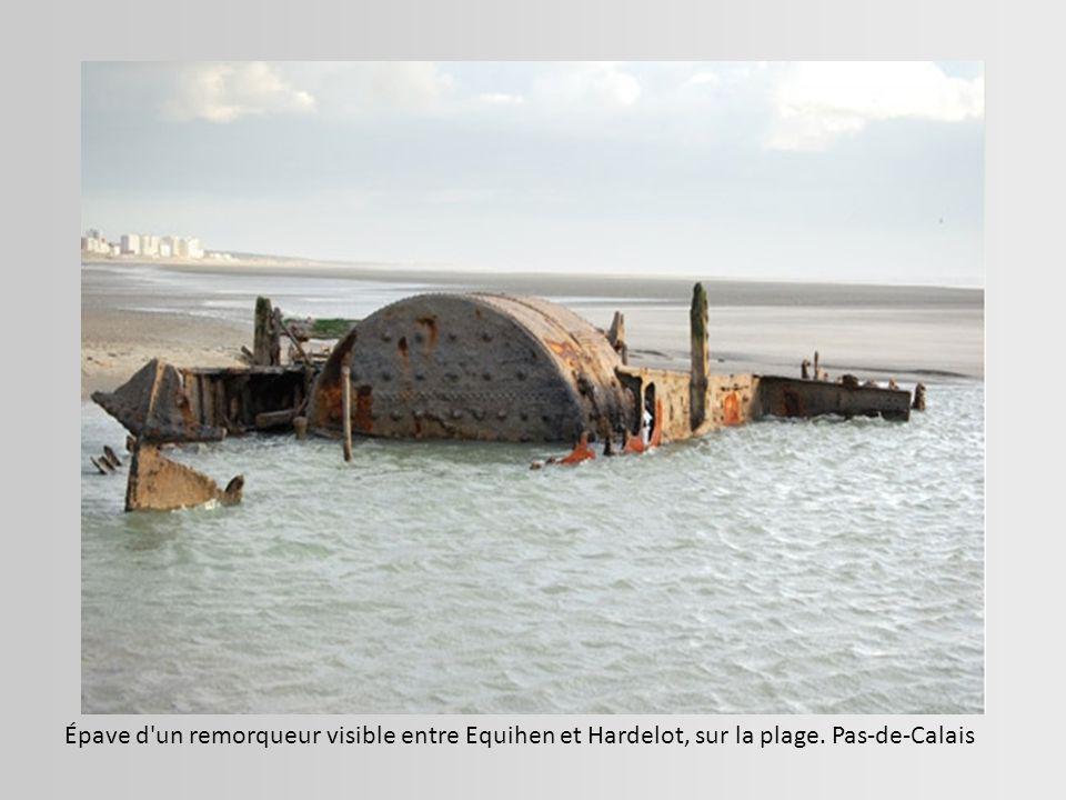 Echouage sur la côte bretonne