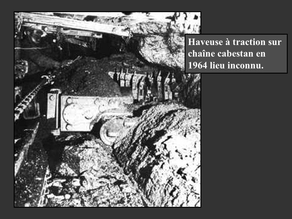 Haveuse Anderson Boys AB-15 au puits Folchsviller des Houillères de Lorraine en 1960