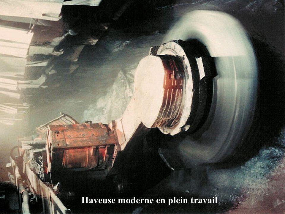 Hobel (Rabot) dans une mine allemande en 2000