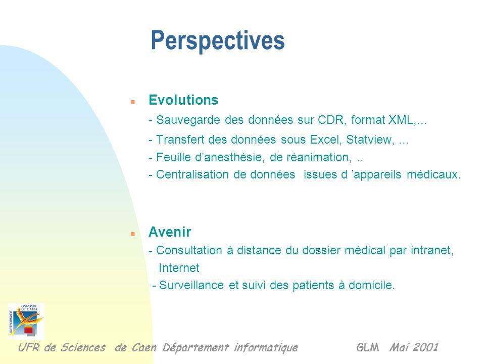 n Objectifs atteints - le calendrier respecté et la réalisation fonctionne. n Difficultés rencontrées - le bon driver pour la liaison ODBC, et entre l