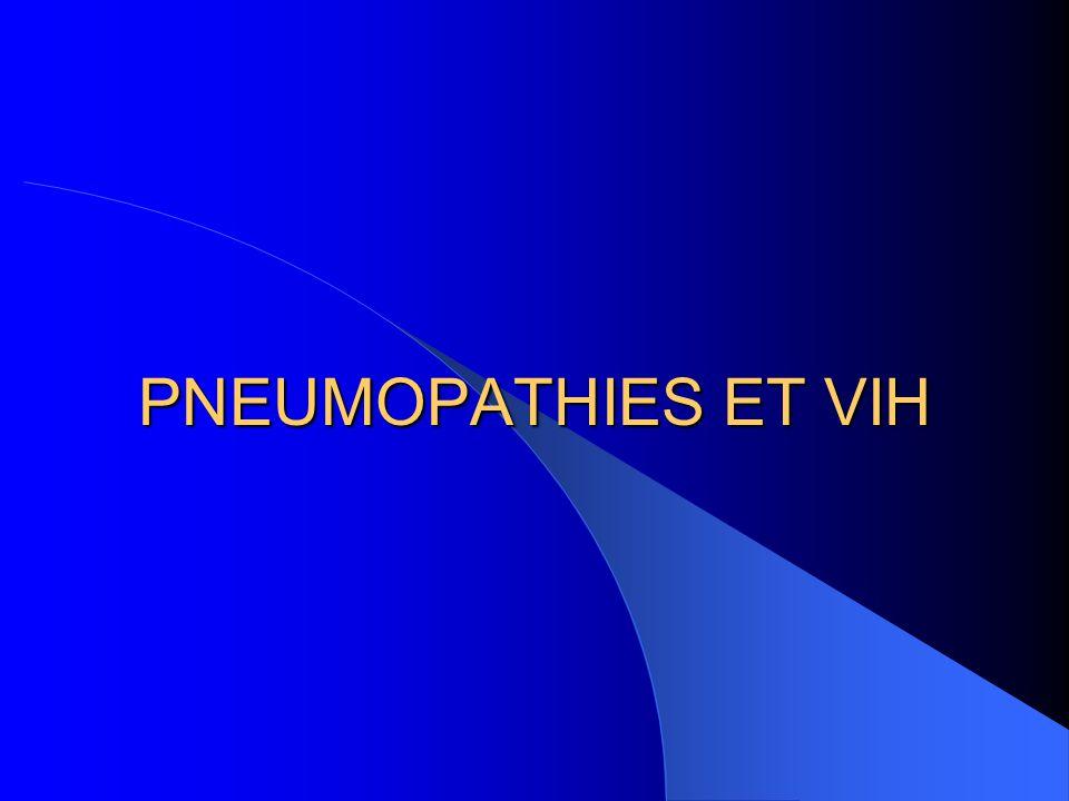 TTT Cotrimoxazole (Bactrim*) + Corticothérapie si PaO2 < 70 + Kiné respi  3 semaines Prophylaxie Ir : Bactrim faible 1/j dès que CD4 < 200/mm3 Prophylaxie IIr: Bactrim fort 1/j