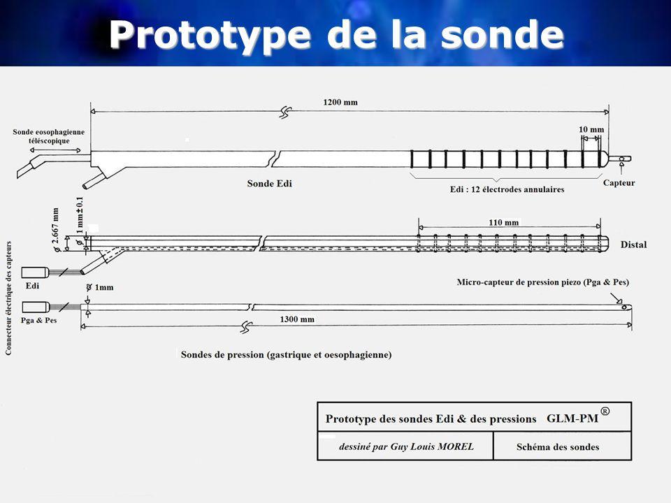 Prototype de la sonde