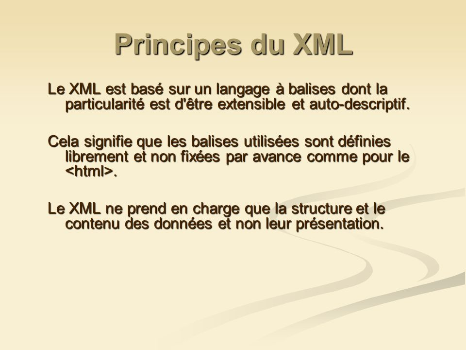 Lien entre le document XML et sa DTD Pour lier le fichier XML manuels.xml à sa DTD, il suffit de placer après le prologue, la ligne suivante : Voir le résultat : manuelsAvecLienDtd.xml manuelsAvecLienDtd.xml