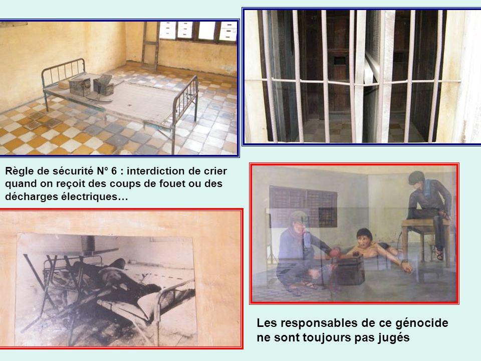 20 000 personnes dans cet ancien lycée furent torturées à mort entre 1975 et 1979