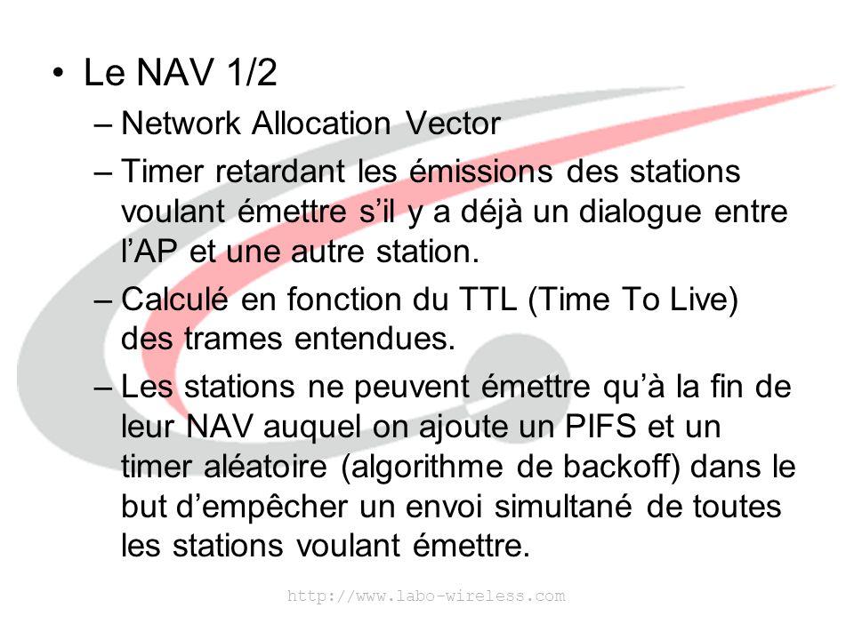 http://www.labo-wireless.com Le NAV 2/2
