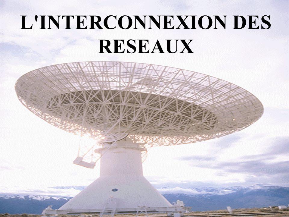 2 L INTERCONNEXION DES RESEAUX