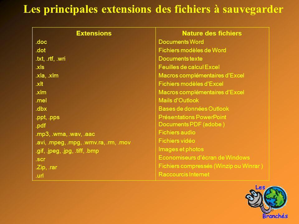 6 Extensions.doc.dot.txt,.rtf,.wri.xls.xla,.xlm.xlt.xlm.mel.dbx.ppt,.pps.pdf.mp3,.wma,.wav,.aac.avi,.mpeg,.mpg,.wmv.ra,.rm,.mov.gif,.jpeg,.jpg,.tiff,.