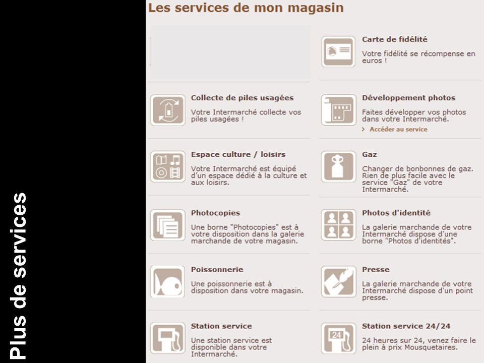 CA Plus de services