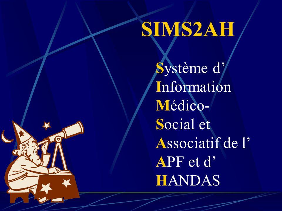 Système d' Information Médico- Social et Associatif de l' APF et d' HANDAS SIMS2AH
