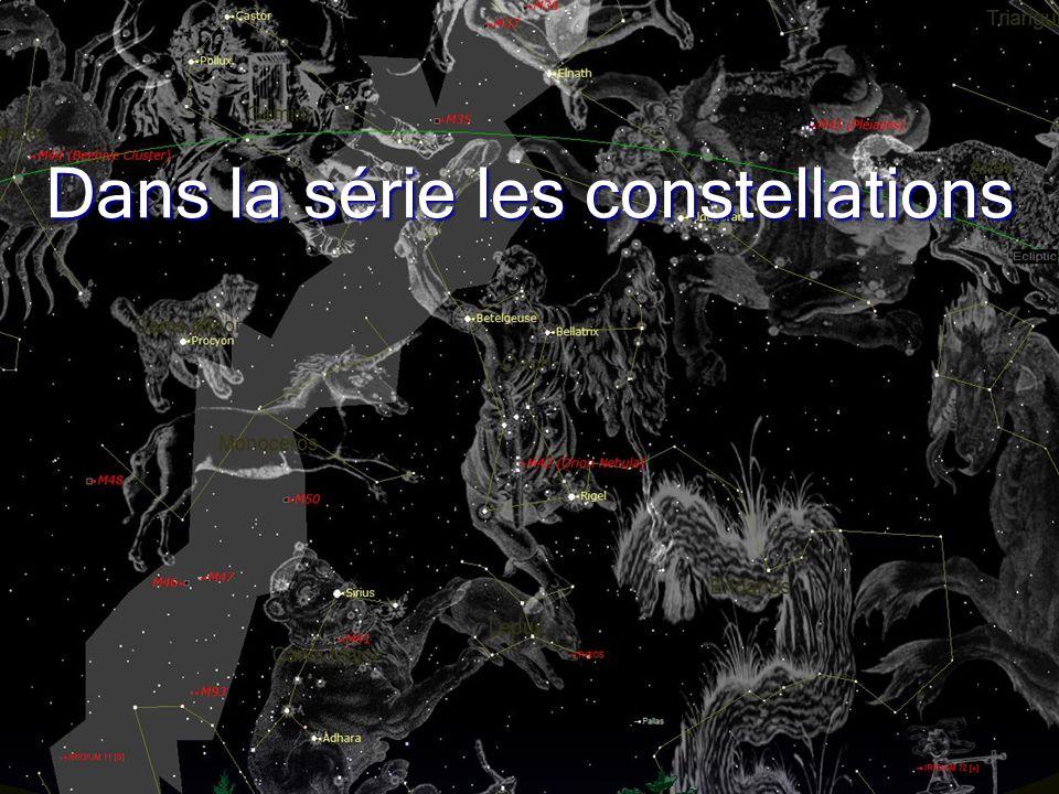 1 Dans la série les constellations