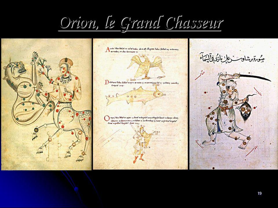 19 Orion, le Grand Chasseur