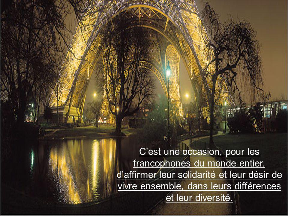 Le terme de francophonie apparut pour la première fois en 1880.