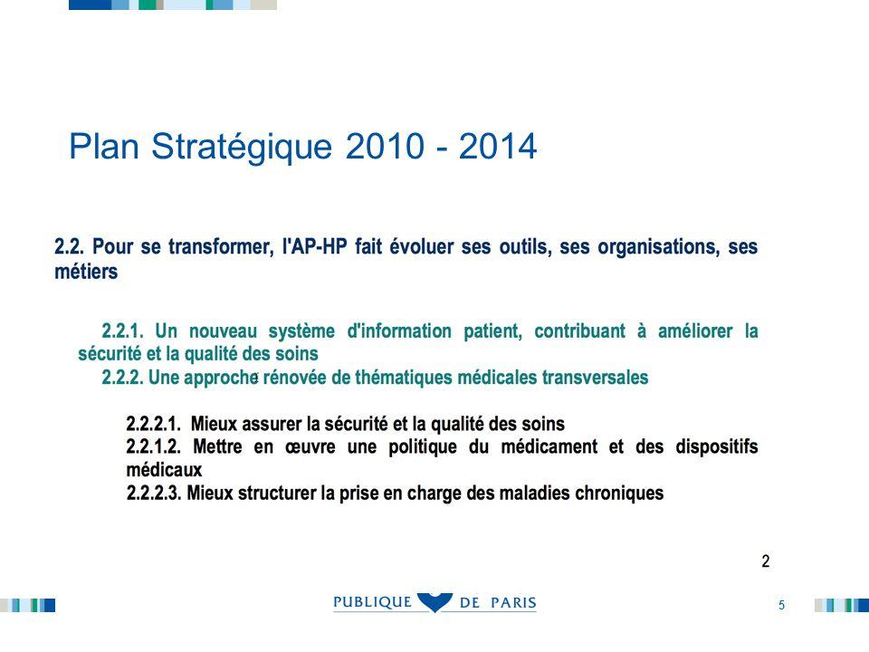 6 Plan Stratégique 2010 - 2014.