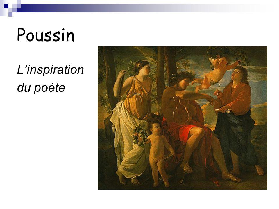 Poussin L'inspiration du poète