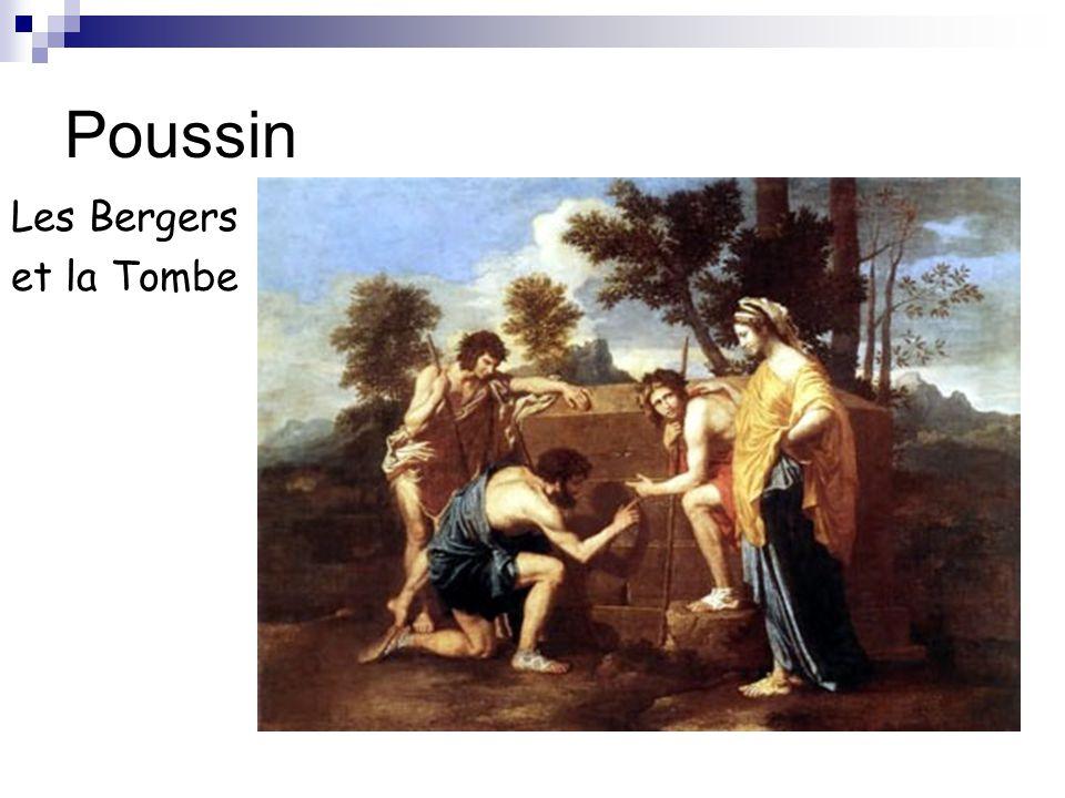 Poussin Les Bergers et la Tombe
