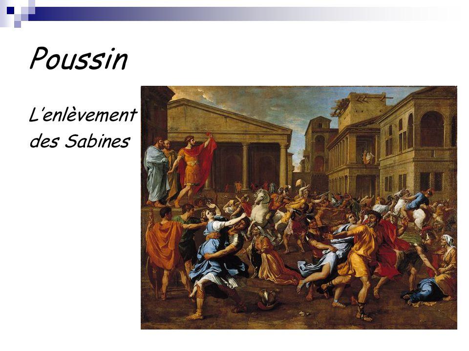 Poussin L'enlèvement des Sabines