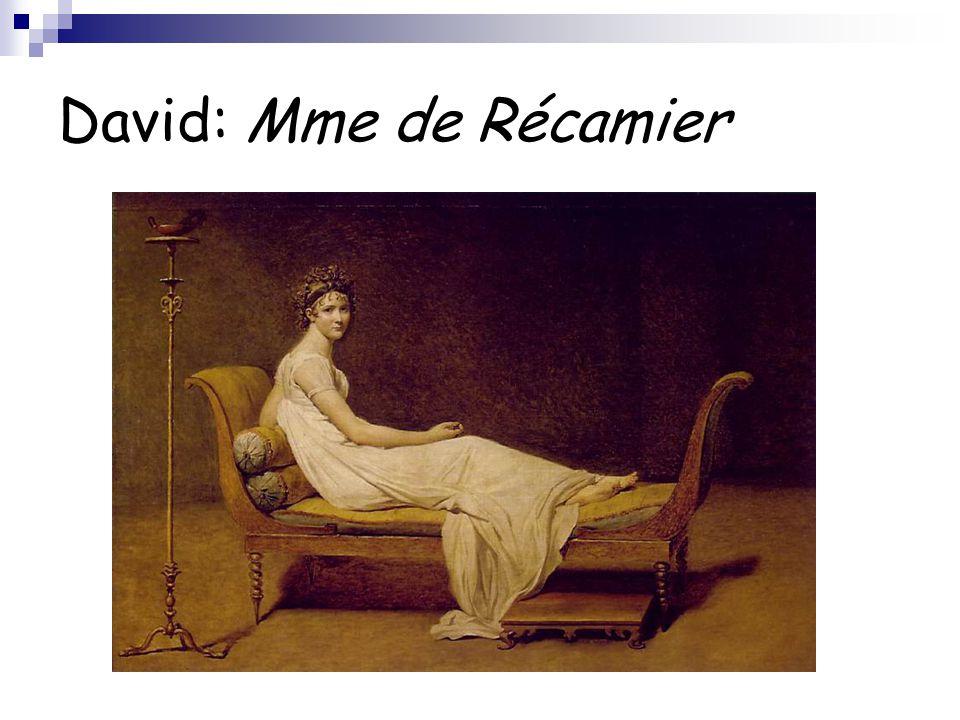 David: Mme de Récamier
