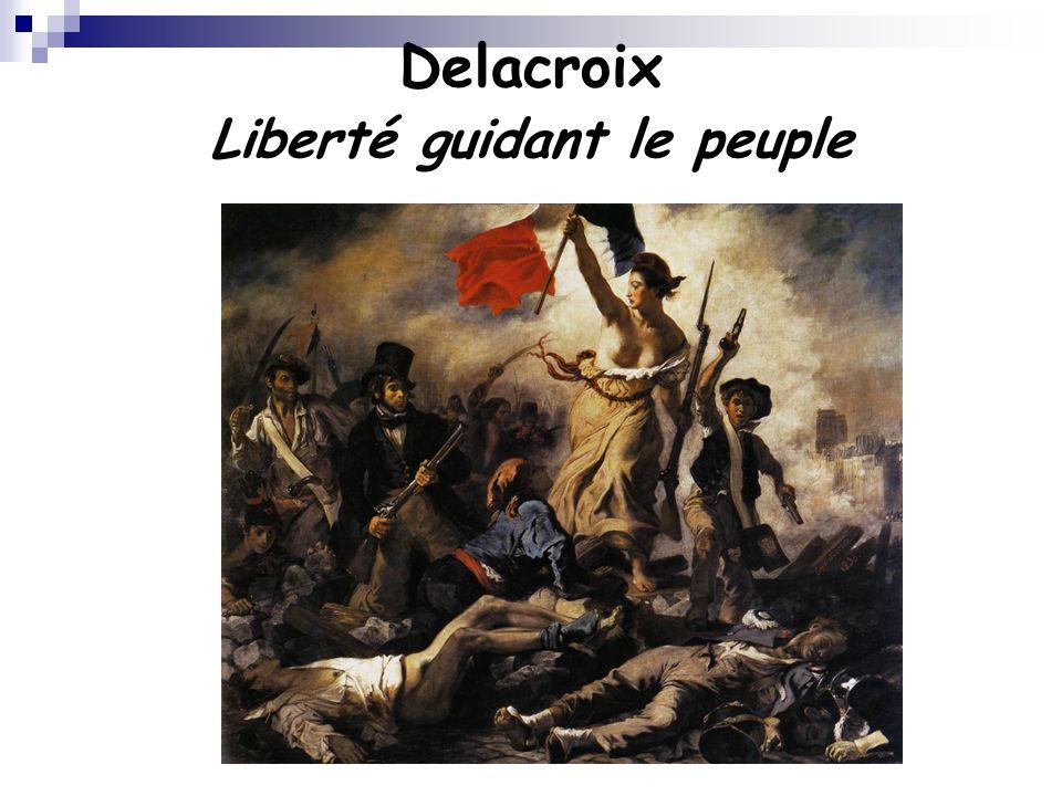 Delacroix Liberté guidant le peuple