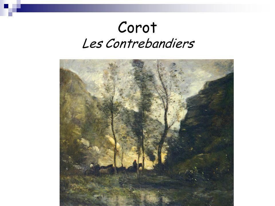 Corot Les Contrebandiers