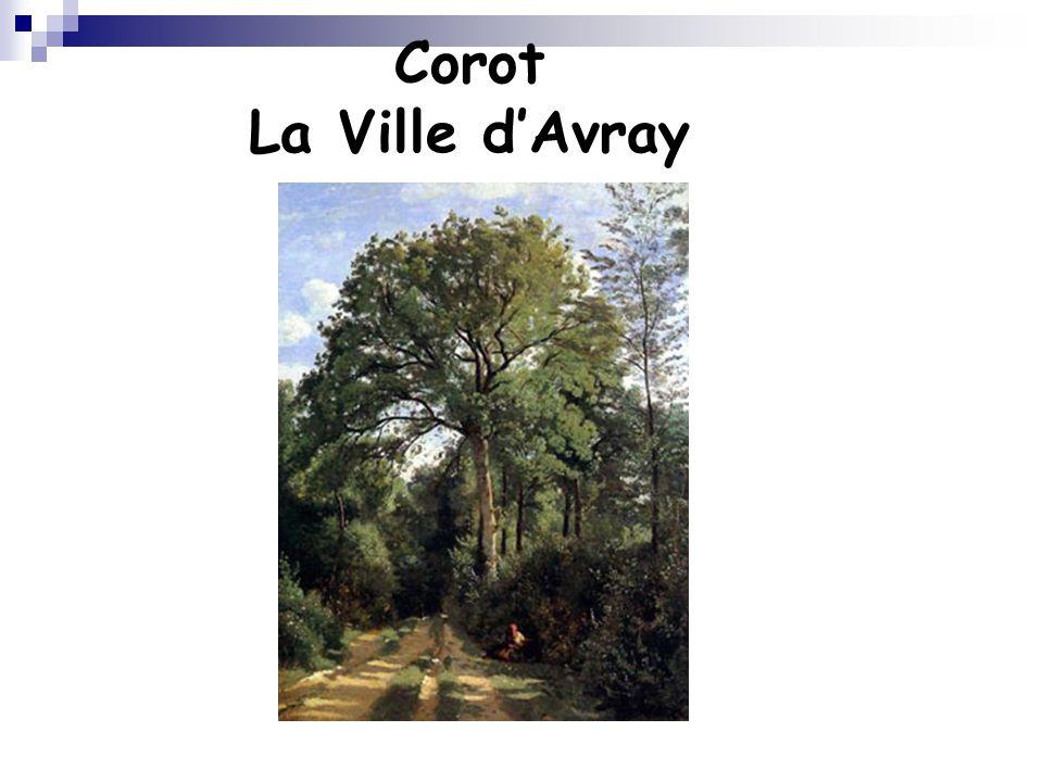 Corot La Ville d'Avray