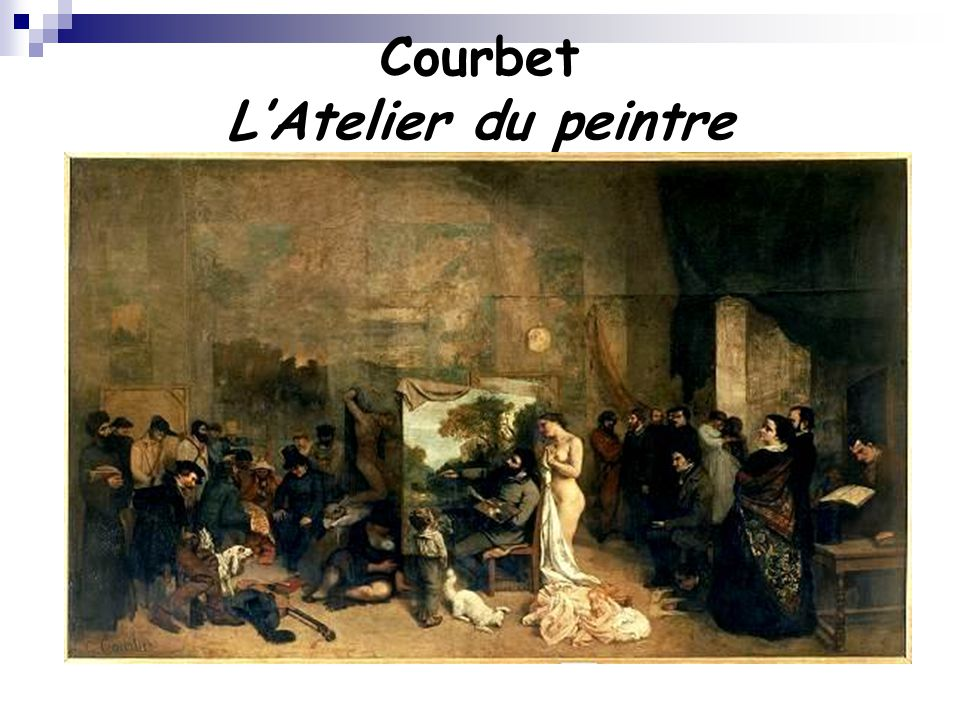 Courbet L'Atelier du peintre