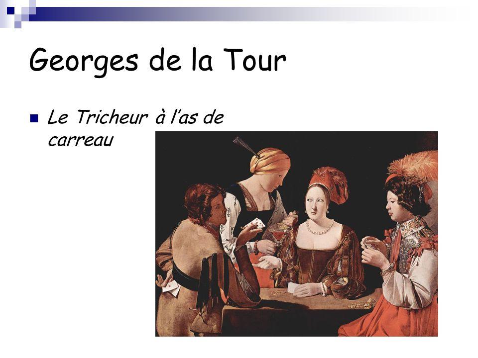 Georges de la Tour Le Tricheur à l'as de carreau