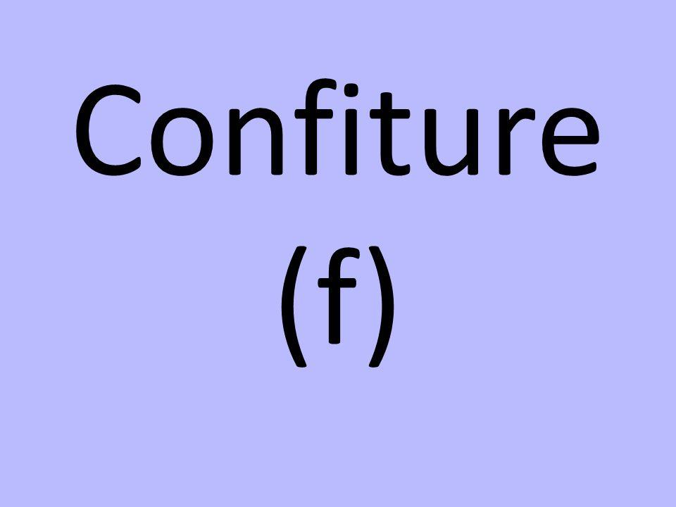 Confiture (f)
