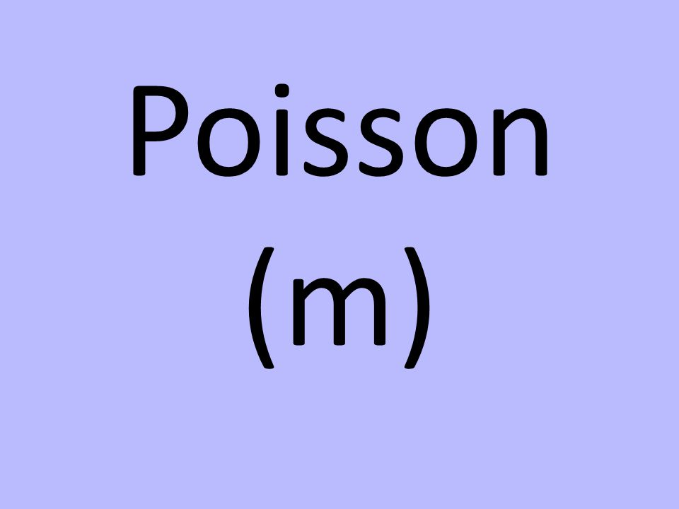 Poisson (m)