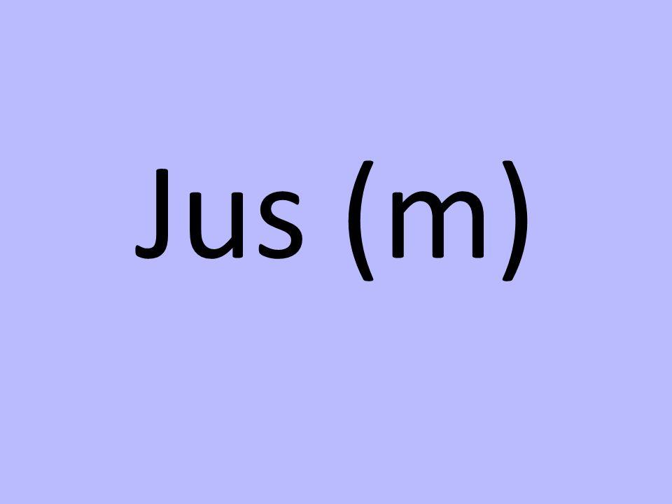 Jus (m)