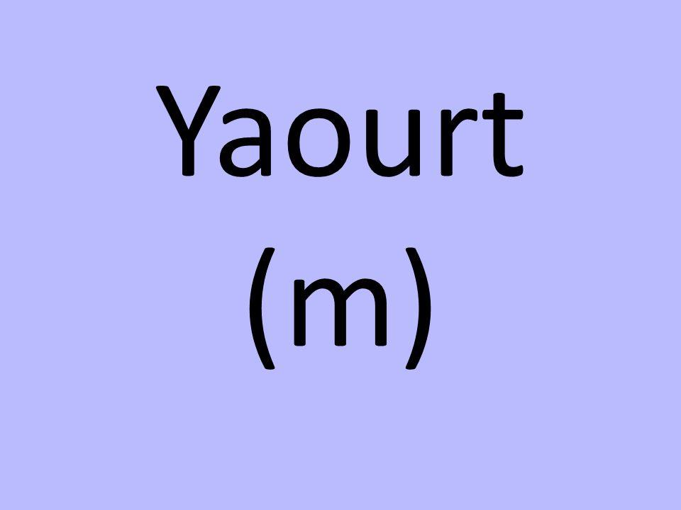 Yaourt (m)