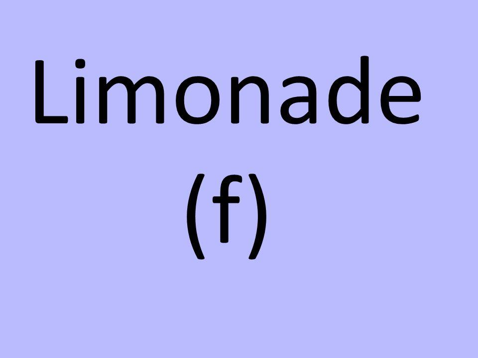 Limonade (f)