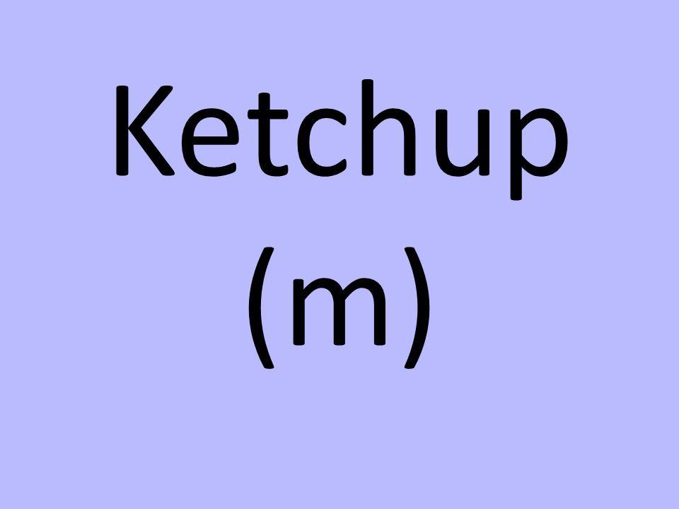 Ketchup (m)