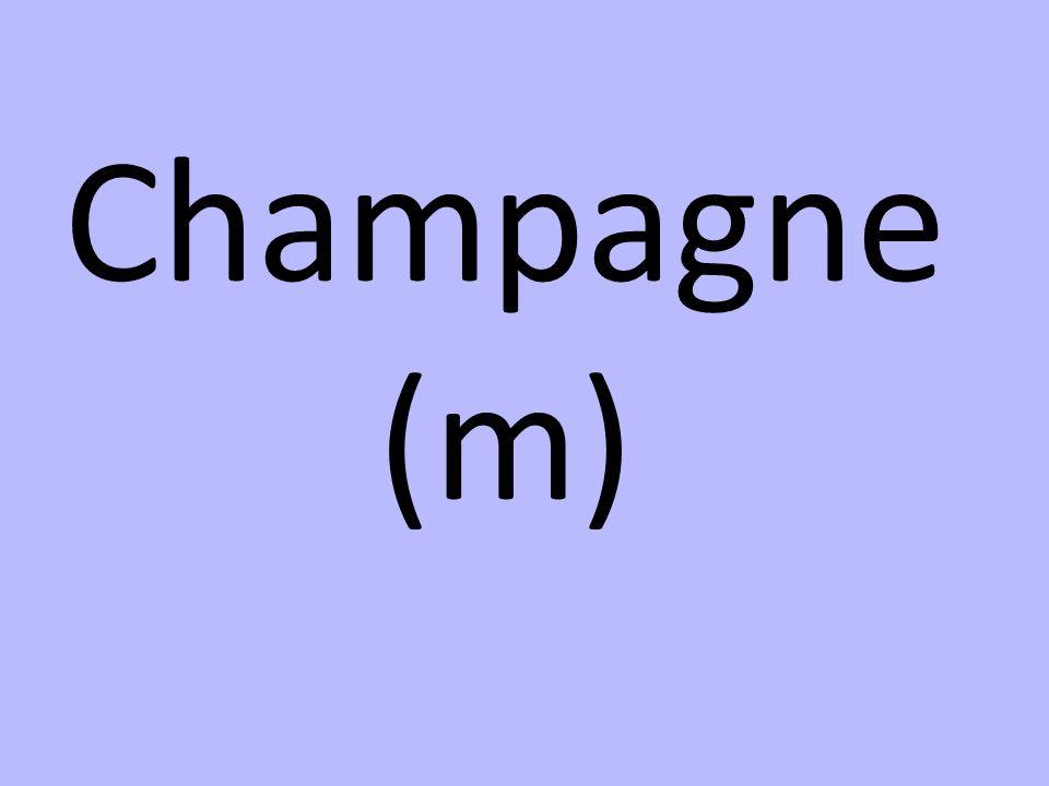 Champagne (m)