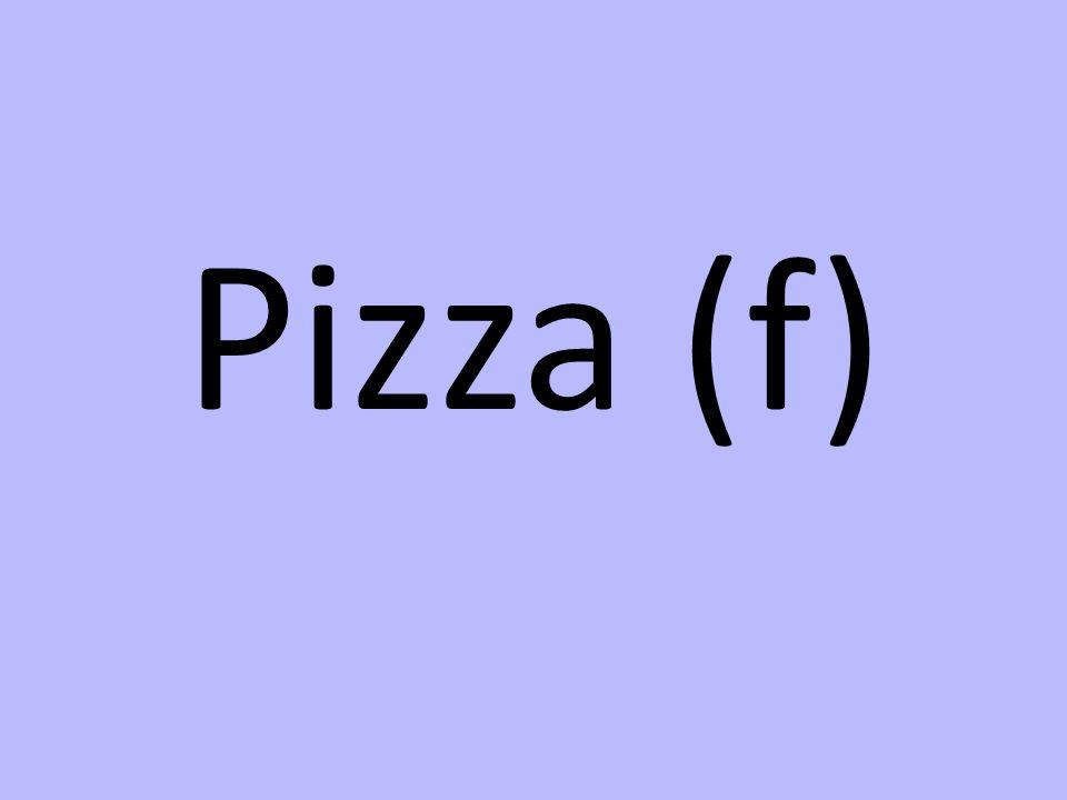 Pizza (f)