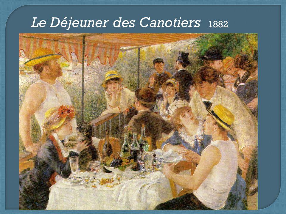 Le Déjeuner des Canotiers 1882