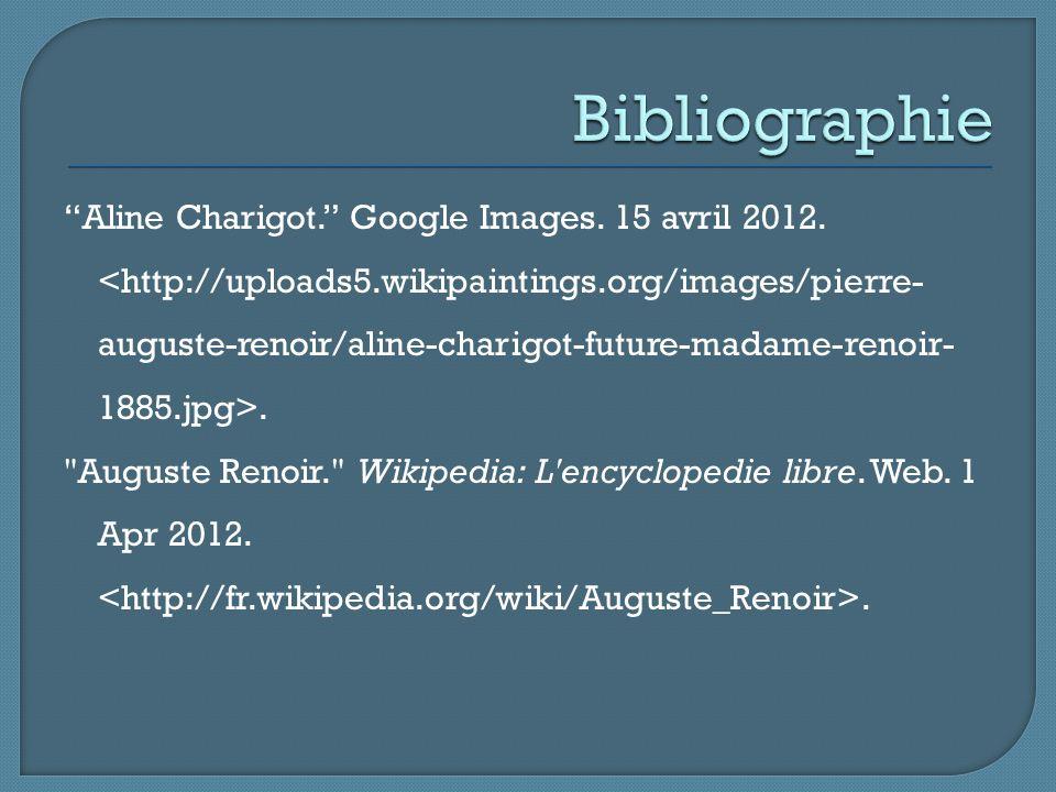 """Aline Charigot."" Google Images. 15 avril 2012.."