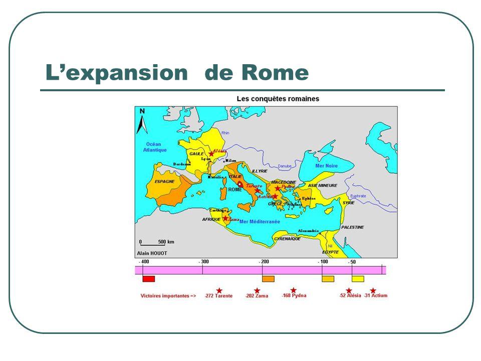 L'expansion de Rome