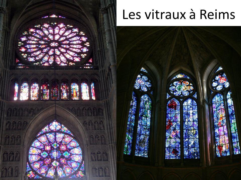 Les vitraux à Reims