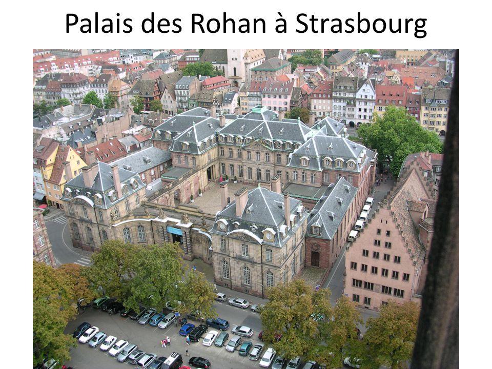 Palais des Rohan à Strasbourg