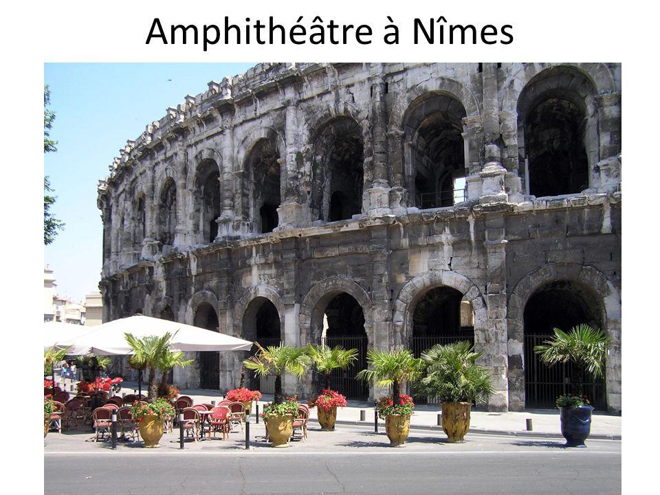 Amphithéâtre à Nîmes