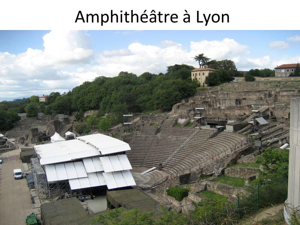 Amphithéâtre à Lyon
