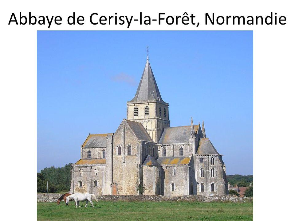 Abbaye de Cerisy-la-Forêt, Normandie
