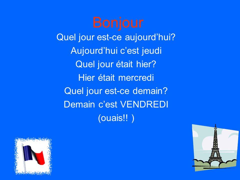 How to express am and pm Du matinin the morning De l'après midiin the afternoon Du soirin the evening Dites quelle heure est-il et indiquez QUAND.