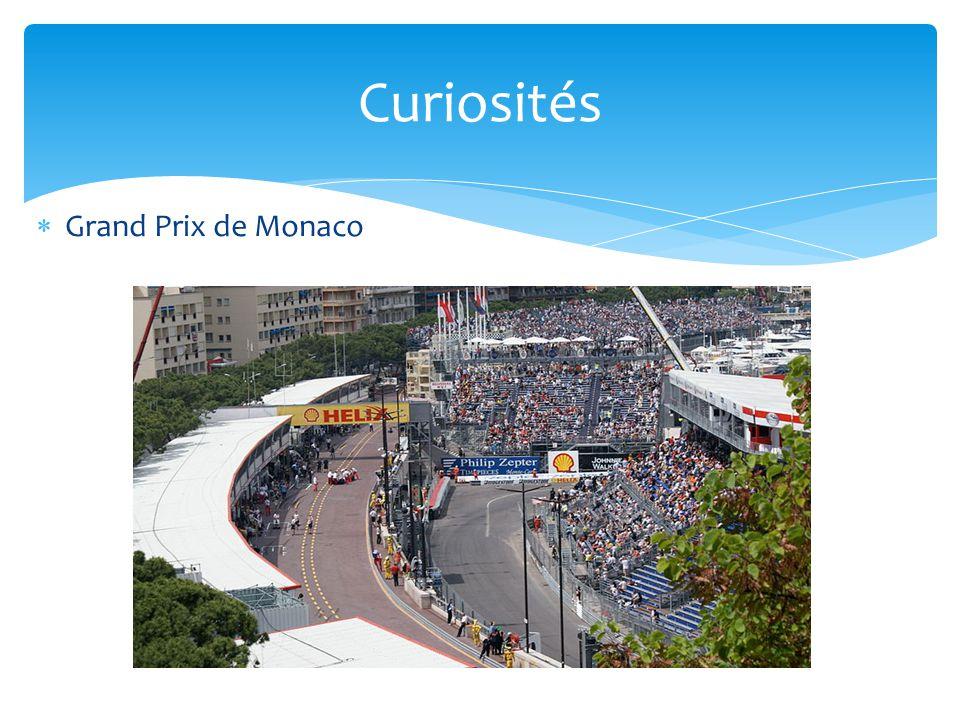  Grand Prix de Monaco Curiosités