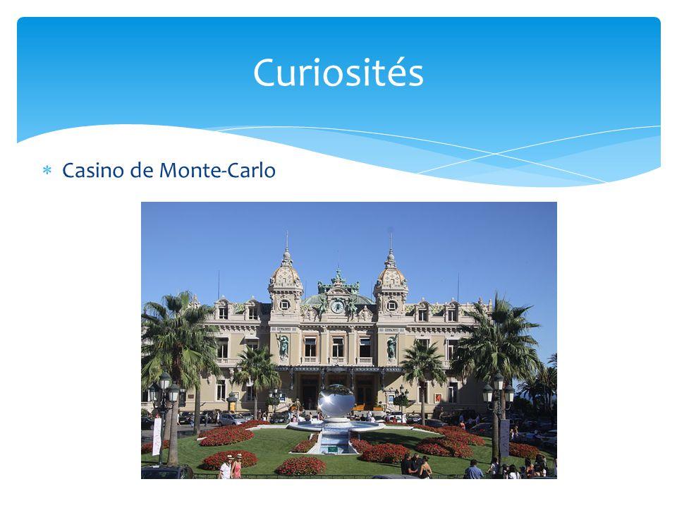  Casino de Monte-Carlo Curiosités