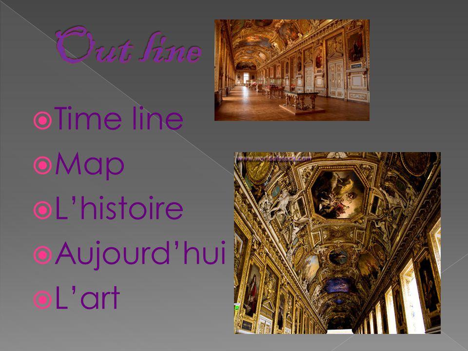  Time line  Map  L'histoire  Aujourd'hui  L'art