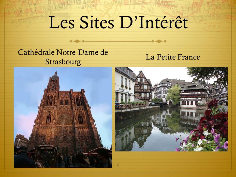 6 Les Sites D'Intérêt Cathédrale Notre Dame de Strasbourg La Petite France