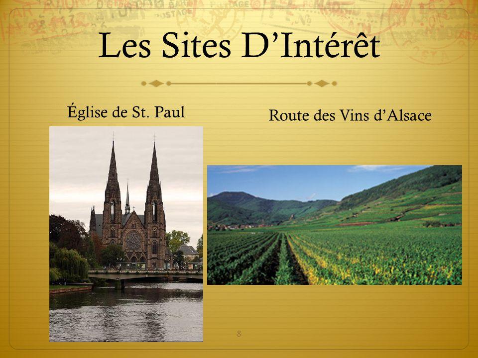 8 Les Sites D'Intérêt Église de St. Paul Route des Vins d'Alsace